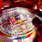Un mandala di sabbia per il Ladakh. E per aiutare i bambini affetti da sordità
