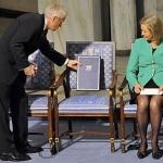 Una sedia vuota per un Nobel per la Pace