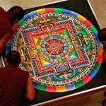 Un mandala buddhista nel carcere di Bollate: cosa significa, cosa ci insegna