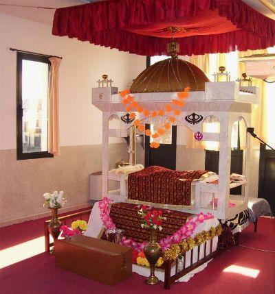 Particolare del Tempio sikh di Novellara (Reggio Emilia)