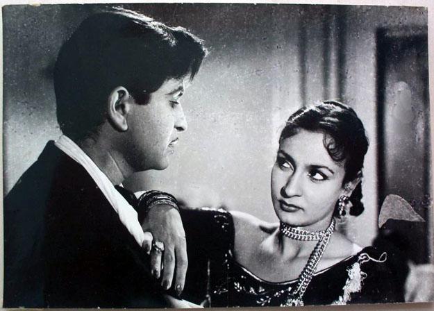 L'attrice Nadira con Raj Kapoor