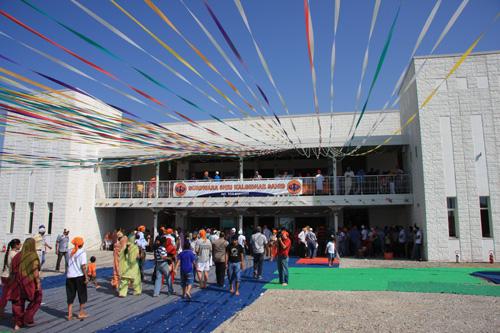Inaugurazione del tempio sikh a Pessina Cremonese. Foto di Marco Restelli
