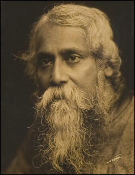Il poeta e romanziere indiano Rabindranath Tagore