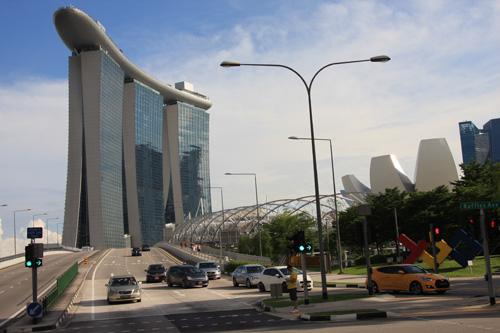 Il Marina Bay Sands, nuova icona di Singapore. Foto di Marco Restelli