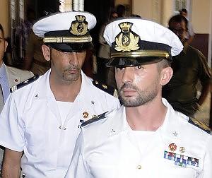 I due marò italiani in India in attesa di processo da due anni