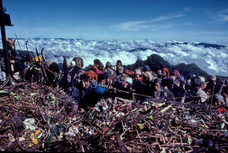 Pellegrini a Kalingchok, Nepal. Foto di Renzo Freschi