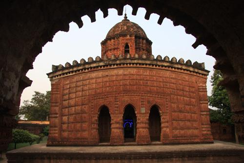 Madan Mohan Temple, Bishnupur, West Bengal. Foto di Marco Restelli