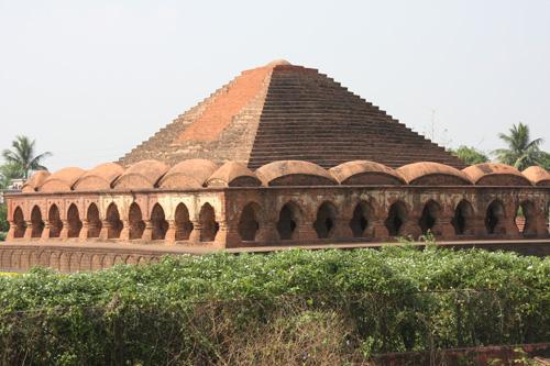 Ras Mancha Temple, Bishnupur, West Bengal. Foto di Marco Restelli
