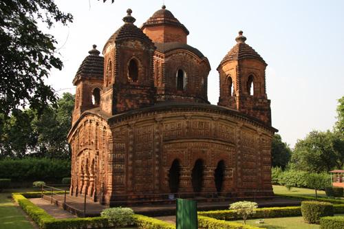 Shyamrai Temple, Bishnupur, West Bengal. Foto di Marco Restelli