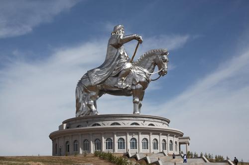 Un monumento a Gengis Khan