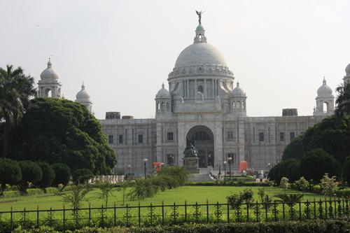 Il Victoria Memorial monumento simbolo della città. Aprirà nuove gallerie d'arte. Foto di Marco Restelli