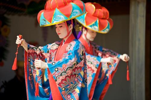 Danze tradizionali delle isole Ryukyu
