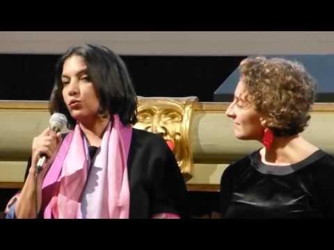 Shabana Azmi e Selvaggia Velo al R2R nel 2013