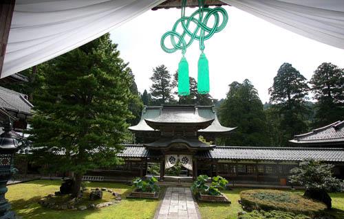 Un padiglione dello Eiheiji nella prefettura di Fukui. Foto di Elena Bianco
