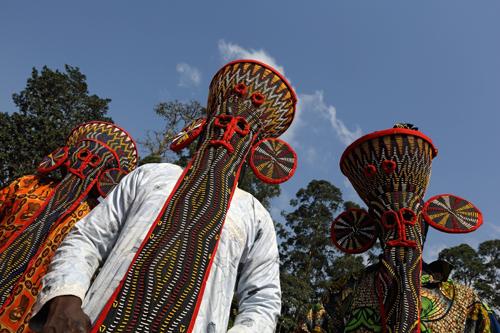 maschere Bamilekè del Camerun 005