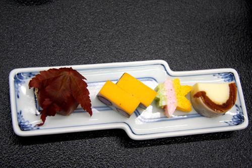 Cucina zen kaiseki in un ryokan termale a Kagaonsen. Foto di Elena Bianco
