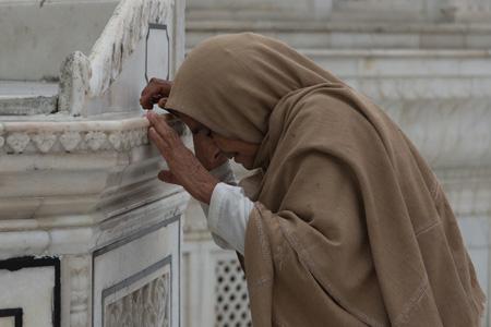 Preghiera. Punjab, India. Foto di Antonio Moncelsi