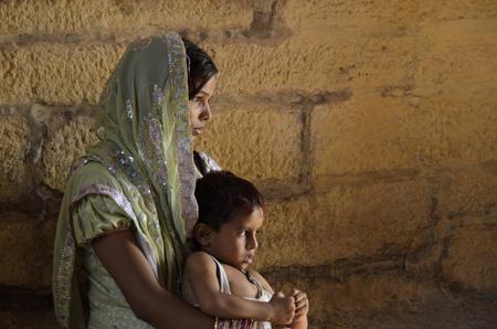 Maternità. Rajasthan, India. Foto di Antonio Moncelsi.