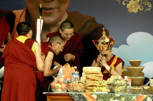 Il XIV Dalai Lama, India 2015. Foto di Giampietro Mattolin