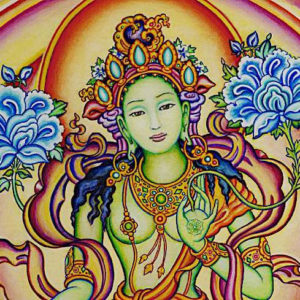 Tara Cittamani, divinità del buddhismo tantrico