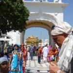 Marco Restelli ad Amritsar, Panjab, India